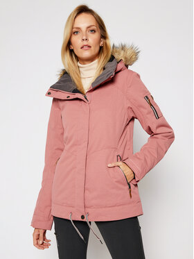 Roxy Roxy Μπουφάν για σκι Meade ERJTJ03275 Ροζ Tailored Short Fit
