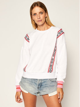 Guess Guess Bluza Clemence W0YQ13 K8800 Biały Regular Fit