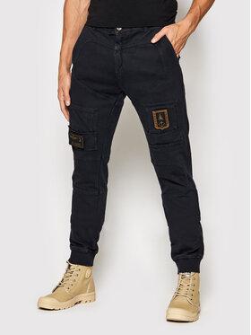 Aeronautica Militare Aeronautica Militare Текстилни панталони 212PF743J505 Тъмносин Regular Fit