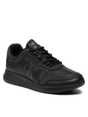 Calvin Klein Jeans Calvin Klein Jeans Sneakersy Runner Laceup Sneaker Eva Lth YM0YM00232 Czarny
