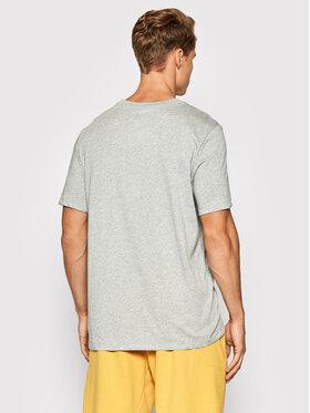 Nike Nike Marškinėliai Dri-FIT Tee Crew Solid AR6029 Pilka Regular Fit