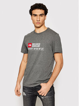 The North Face The North Face Marškinėliai M Gps T Ben Nevis NF00CC8EDYY1 Pilka Regular Fit