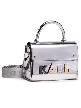 KARL LAGERFELD KARL LAGERFELD Handtasche 210W3039 Silberfarben