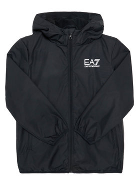 EA7 Emporio Armani EA7 Emporio Armani Átmeneti kabát 6HBB01 BN27Z 1200 Fekete Regular Fit