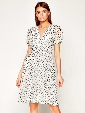 DKNY DKNY Kleid für den Alltag DD0AJ722 Weiß Regular Fit