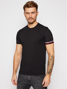 Dsquared2 Underwear Dsquared2 Underwear T-Shirt D9M203200 Μαύρο Regular Fit