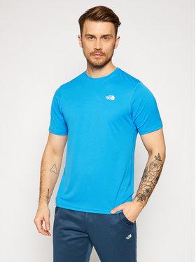 The North Face The North Face Techniniai marškinėliai NF0A3L2E Mėlyna Regular Fit