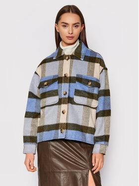Selected Femme Selected Femme Átmeneti kabát Remi Check 16080195 Színes Regular Fit