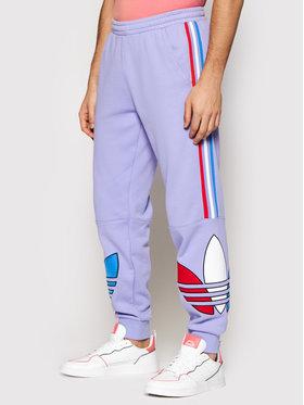 adidas adidas Sportinės kelnės Tricol Sp 2 GN4453 Violetinė Regular Fit