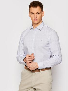 Trussardi Trussardi Marškiniai Popeline 52C00210 Balta Slim Fit