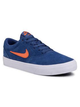 NIKE NIKE Chaussures Sb Charge Suede CT3463 402 Bleu marine