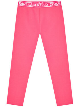 KARL LAGERFELD KARL LAGERFELD Leggings Z14148 S Rose Slim Fit