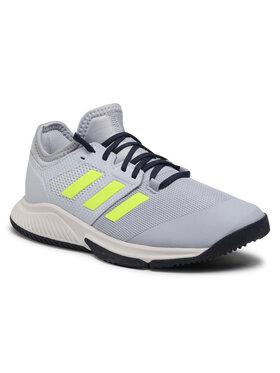 adidas adidas Boty Court Team Bounce M FZ2614 Šedá