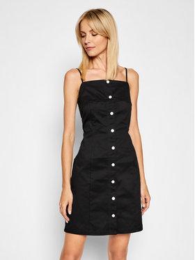 Calvin Klein Jeans Calvin Klein Jeans Sukienka letnia J20J215673 Czarny Regular Fit