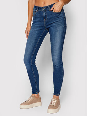Noisy May Noisy May Jeans Lucy 27016460 Blau Skinny Fit