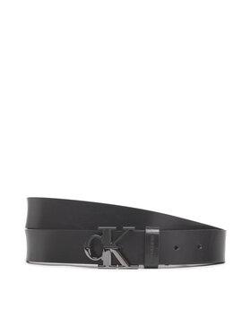 Calvin Klein Jeans Calvin Klein Jeans Dámsky opasok Mono Hardware Split Belt 30Mm K60K608360 Čierna