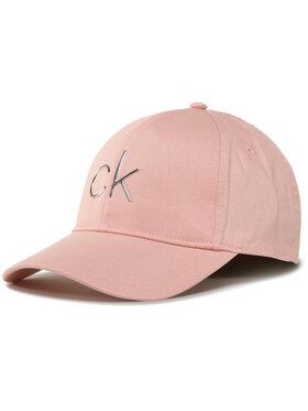 Calvin Klein Calvin Klein Czapka z daszkiem Ck Tpu Bb Cap K60K606845 Różowy