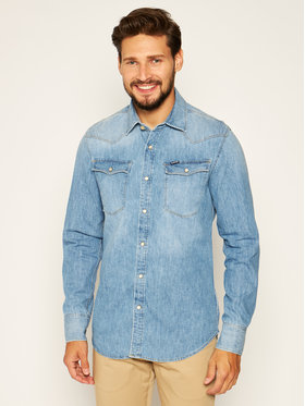 G-Star RAW G-Star RAW Hemd 3301 D12697-D013-071 Blau Slim Fit