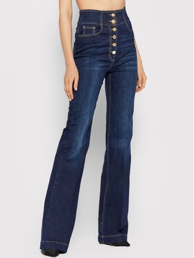 Elisabetta Franchi Elisabetta Franchi Jeans PJ-23S-16E2-V290 Blu scuro Slim Fit
