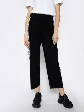 Weekend Max Mara Weekend Max Mara Текстилни панталони Tempio 53310207 Черен Regular Fit