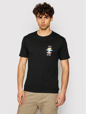 Rip Curl Rip Curl T-shirt Search Essential CTESV9 Nero Standard Fit
