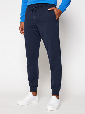 Guess Guess Pantalon jogging M1RB37 K6ZS1 Bleu marine Slim Fit