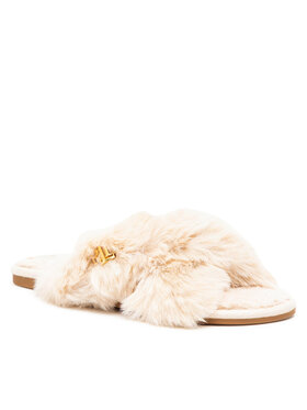 Lauren Ralph Lauren Lauren Ralph Lauren Kapcie Sydni 802851160003 Beżowy