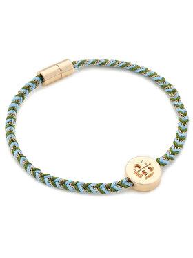 Tory Burch Tory Burch Náramek Kira Braided Bracelet 78923 Modrá