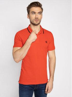 Calvin Klein Jeans Calvin Klein Jeans Pólóing J30J314565 Piros Slim Fit