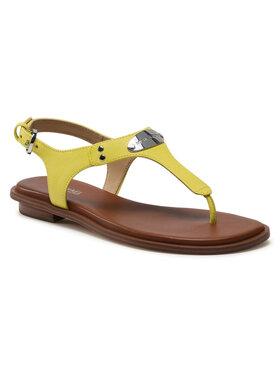 MICHAEL Michael Kors MICHAEL Michael Kors Sandále Mk Plate Thong 40U2MKFA1L Zelená