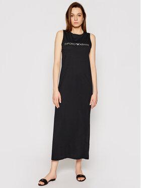 Emporio Armani Emporio Armani Sukienka plażowa 262635 1P340 98320 Czarny Regular Fit