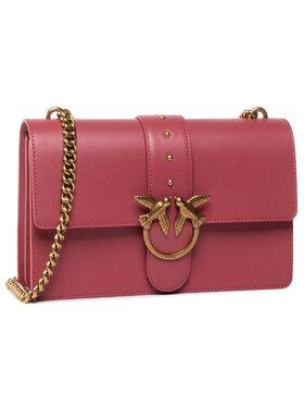 Pinko Pinko Дамска чанта Love Classic Icon Simply 1 Cl AI 20-21 PLTT 1P21ZR Y6JC Розов