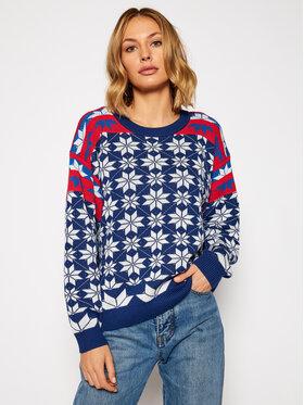 Wrangler Wrangler Sweater Alpine Rainbow W8N5QCX09 Színes Regular Fit