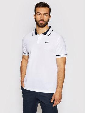 Joop! Joop! Тениска с яка и копчета 17 Jj-16Perseus 30025969 Бял Regular Fit