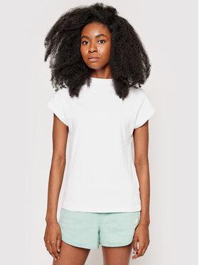 4F 4F T-Shirt H4L21-TSD038 Biały Regular Fit