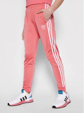 adidas adidas Spodnie dresowe adicolor Sst GN8456 Różowy Regular Fit
