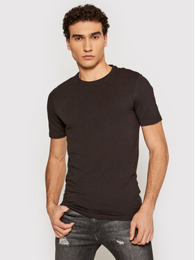 Only & Sons ONLY & SONS Marškinėliai Basic 22020799 Juoda Slim Fit