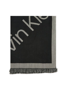Calvin Klein Calvin Klein Πασμίνα Geo Logo Scarf 110x220 K60K608645 Μαύρο