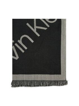 Calvin Klein Calvin Klein Шаль Geo Logo Scarf 110x220 K60K608645 Чорний
