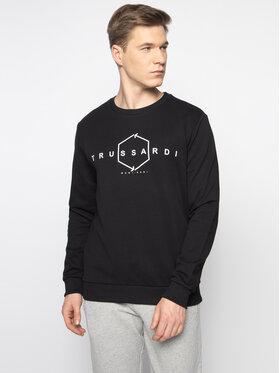 Trussardi Jeans Trussardi Jeans Sweatshirt 52F00100 Schwarz Regular Fit