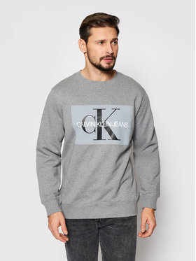 Calvin Klein Jeans Calvin Klein Jeans Mikina J30J307742 Šedá Regular Fit