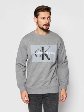 Calvin Klein Jeans Calvin Klein Jeans Mikina J30J307742 Sivá Regular Fit