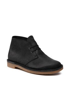 Clarks Clarks Kotníková obuv Bushacre 3 261535297 Černá