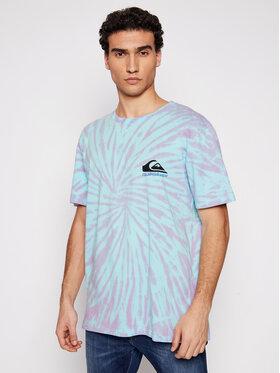 Quiksilver Quiksilver T-Shirt Slow Light EQYZT06343 Barevná Regular Fit