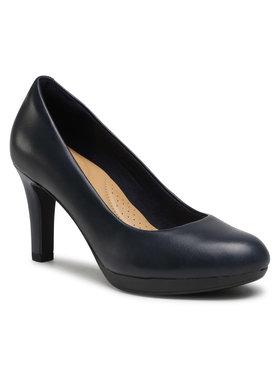 Clarks Clarks Обувки Adriel Viola 261293614 Тъмносин