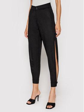 LaBellaMafia LaBellaMafia Текстилни панталони 20630 Черен Regular Fit