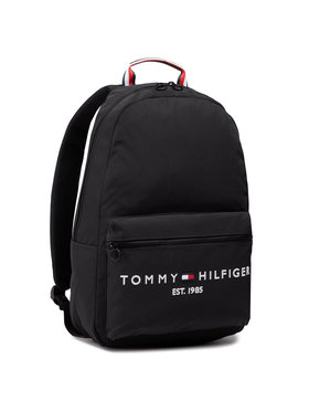Tommy Hilfiger Tommy Hilfiger Rucsac Th Established Backpack AM0AM07266 Negru