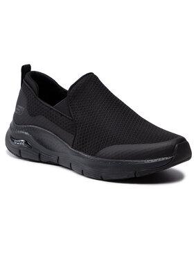 Skechers Skechers Sportcipő Banlin 232043/BBK Fekete