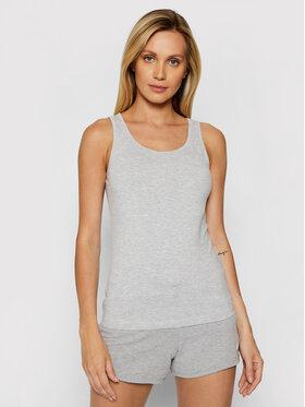4F 4F Marškinėliai NOSH4-TSD003 Pilka Slim Fit