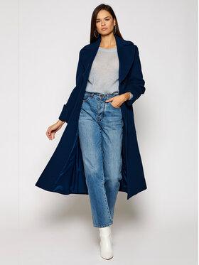MAX&Co. MAX&Co. Cappotto di lana Ermione 70140220 Blu scuro Regular Fit